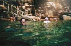 swimming in spectacles (Aliceblueblazes) Tags: lomo sydney australia lomolca nsw oceanbath oceanpool mcivers swimmingwithlomo bespectacledmermaid