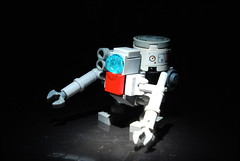KR-1 Scavenger Bot (r. Randomness) Tags: trash robot junk technology lego military apocalypse clean sanitary future keep products fi waste recycle salvation salvage sci droid bot scavenger mech robo lug apoc brickarms