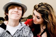 Justyn & Miranda (Julia Morehouse) Tags: love digital canon rebel couple teen miranda justyn xti