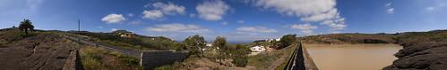 Presa de Los Desaguaderos, Santa María de Guía. Isla de Gran Canaria