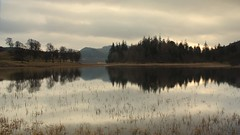 Lochain Uvie (Vic Sharp) Tags: uk trees mountains reflection water landscape scotland countryside highlands nikon view natural country scottish scene gb loch cairngorms strathspey speyside badenoch d80