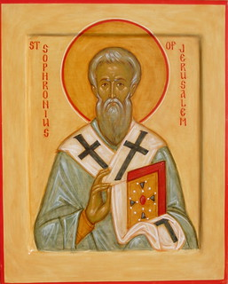 St Sophronius of Jerusalem