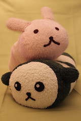 Towel Bugs (crayonmonkey) Tags: cute rabbit bunny toy soft sewing craft towel bugs cotton cuddle cushion striped aranziaronzo  mameshiba