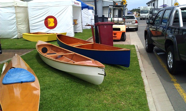 Plywood canoes from storerboats - Quick Canoe, Eureka and an OzRacer/PDRacer