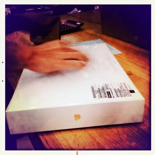 準備開箱子