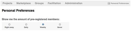 Pre-registered Member Email
