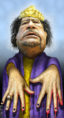 Muammar Gaddafi, Zombie Dictator