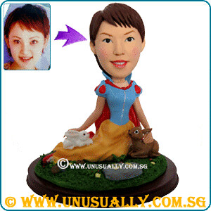 Custom 3D Caricature Lovely Princess Figurine