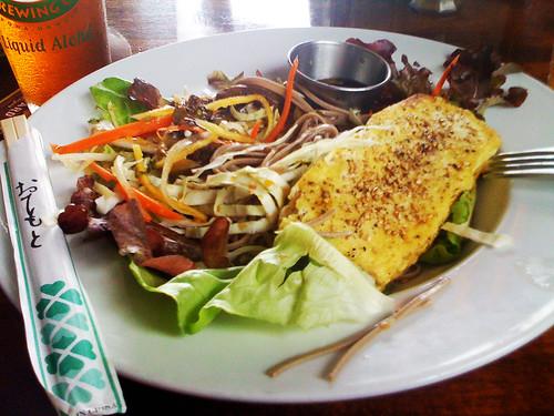 Keei Cafe Soba Noodle Salad