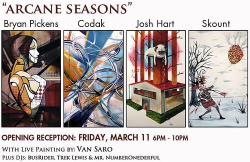 "Gallery presents ""Arcane Seasons"""