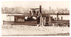 Perdriau's Balmain ferry - `Leipoa' (john cowper) Tags: ferry dock sydney steam newsouthwales darlingharbour balmain sydneyharbour nswau leipoa mortsdock balmainsteamferrycompany