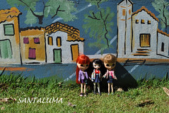 Aisha,Iani e Lissha no parque!!