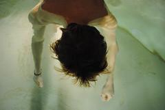(Mackenzie Jean.) Tags: light water hair nikon sinking drown d3000