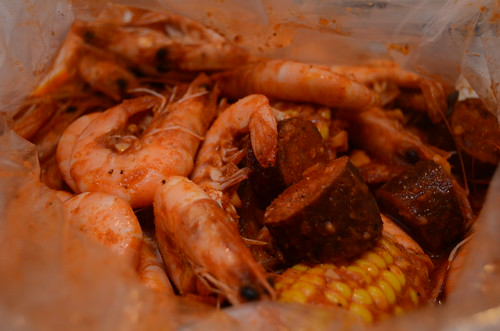 the boiling crab shrimp