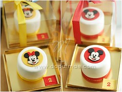Mickey Minnie Mouse Mini Cake