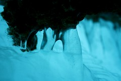 Frozen Falls (TylerRikB) Tags: winter cold ice minnesota canon eos rebel weird frozen different o unique minneapolis falls dirt behind minnehaha shale