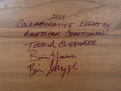 Signatures of Craftsmen