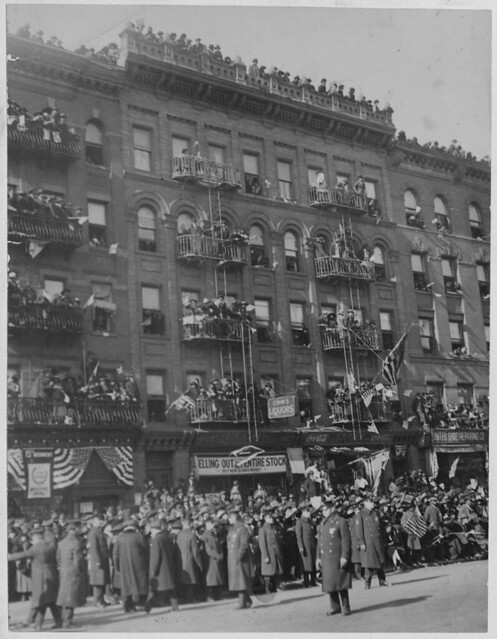 Famous New York [African American] soldiers return home by The US National Archives