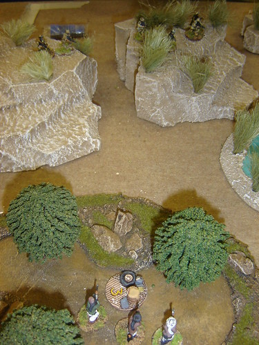 British gain high ground overlooking trees