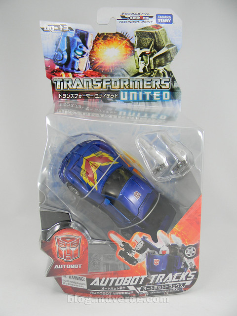Transformers Tracks United Deluxe - caja