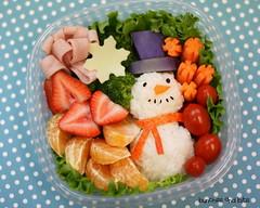 Snowman Bento X 5