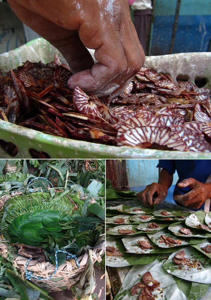 Betel Nut Mouthchew, Burma