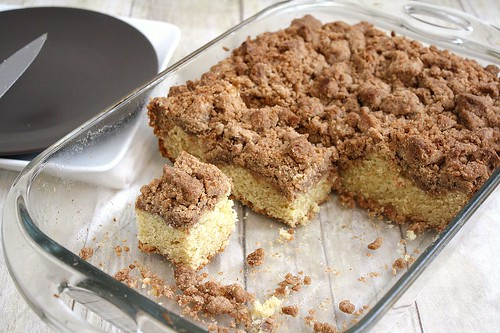 New York-Style Crumb Cake | Tracey's Culinary Adventures