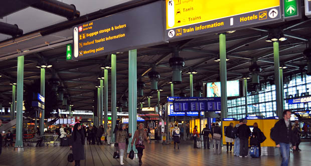 Aeroporto de Schiphol 2