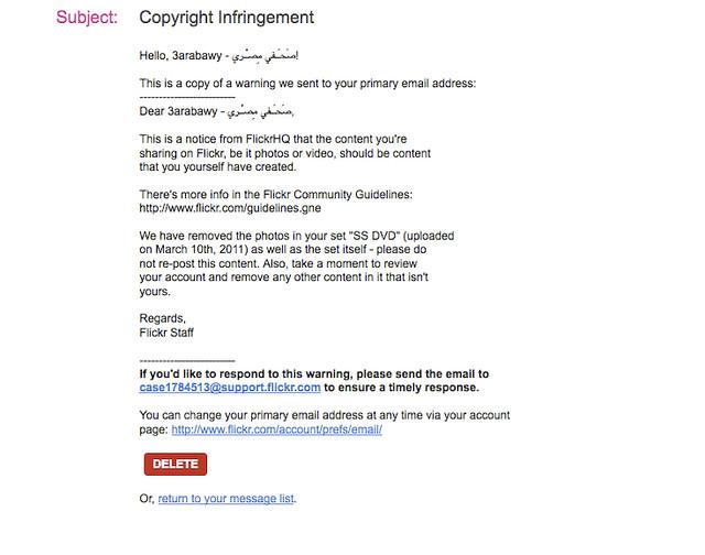 Brev om censur af billeder