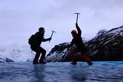 Attack (sillie_R) Tags: mountain ice iceland glacier vatnajokull svnafellsjkull