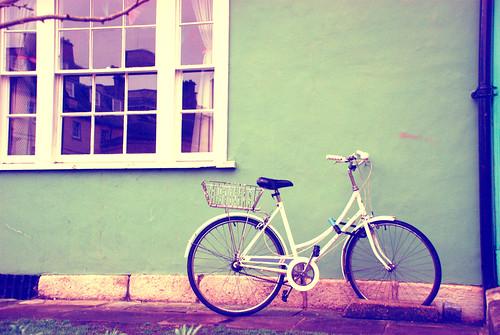 Bike resting photoshop 2