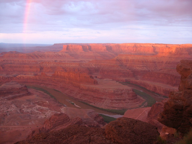 View of Canyonlands from Dead Horse Point