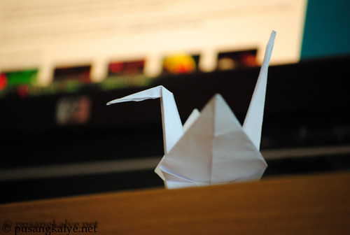 PAPERcraneFOR japan