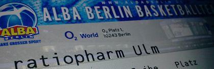 Alba Berlin - Ulm 100:90 (09.03.2011)