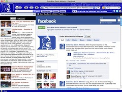 Duke Blue Devils Browser Theme