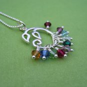 Family Garden Necklace: Grandmother's Necklace