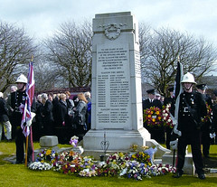 Glasgow Fire Memorial 30 March 2010