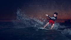 075/365 Pushing Limits (matthewcoughlin) Tags: ocean beach gulfofmexico wave spray shorts skimboarding shredding rashguard speedlite offcameraflash strobist 430exii 3652011 2011inphotos