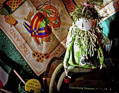 Moira Minerva Muse (Moonflower Studio) Tags: irish doll patterns dragons ladybugs shamrocks happystpattysday pwactions htitft