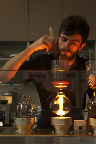 Siphon Coffee at the Blue Bottle, San Francisco