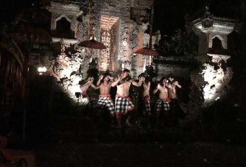 Kecak Performance at Pura Dalem Taman Kaja (Bali, 2009)