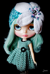 Ice (Yennie ~ need more dolly time..:() Tags: flower ice hat dress rice sally leshan miss msr blytheology