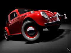 VW Beetle 2 (NsAn) Tags: auto old light red black car wheel metal vw vintage bug volkswagen fun 3d model 60s automobile graphic top background render beetle style tire automotive bumper chrome 80s transportation end 70s vehicle customized headlight headlamp custom lowered