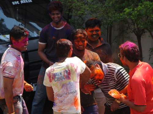 Festival di Holi in India di Anand Nav, su Flickr