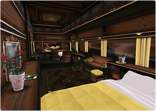 Style - The Orient Express, Inside
