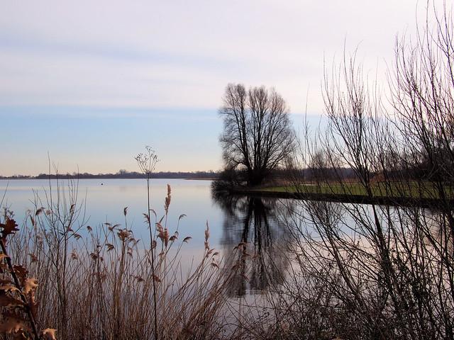 Twiske - uitzicht over het water...