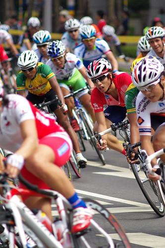 2011國際自由車環台賽(補摔車畫面)