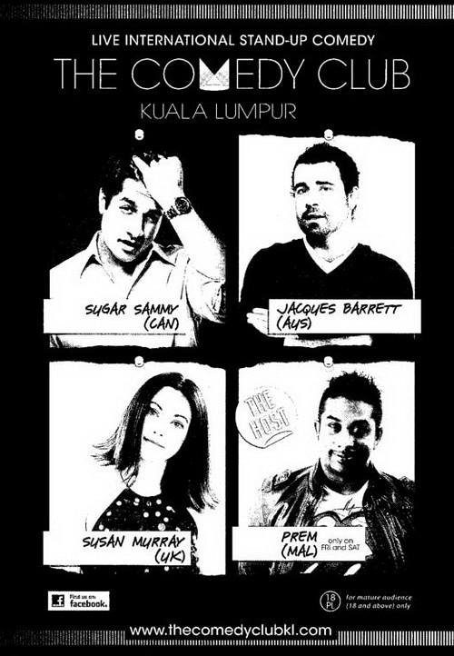 The Comedy Club Kuala Lumpur
