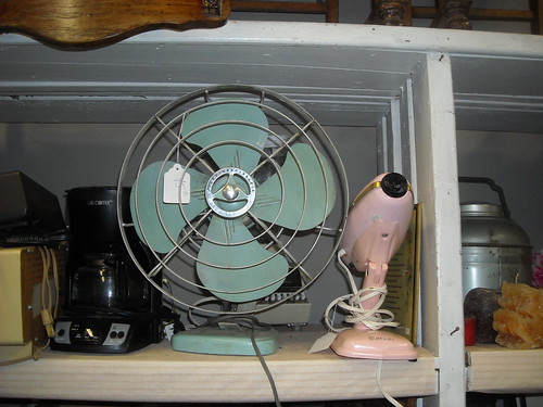 50s Fan and Hair Dryer