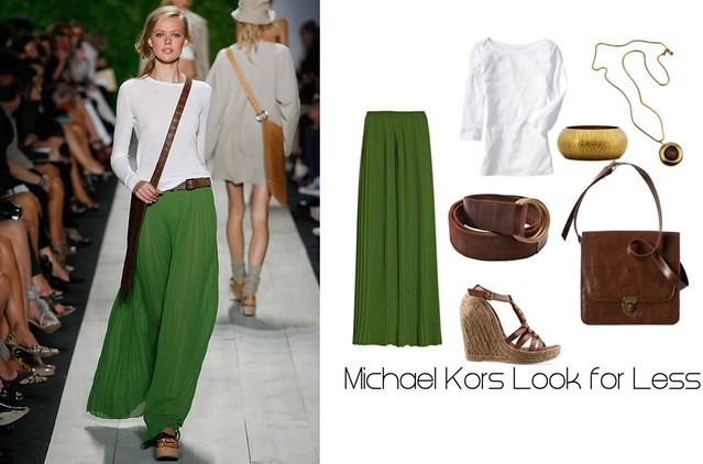 Michael Kors Green Maxi